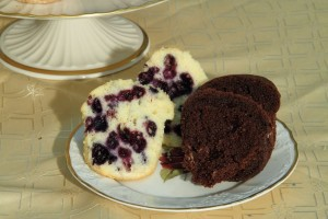 blueberry muffins - chocolate muffins1